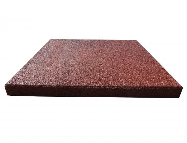 Reflex esésvédő gumilap, 4x50x50 cm, vörös