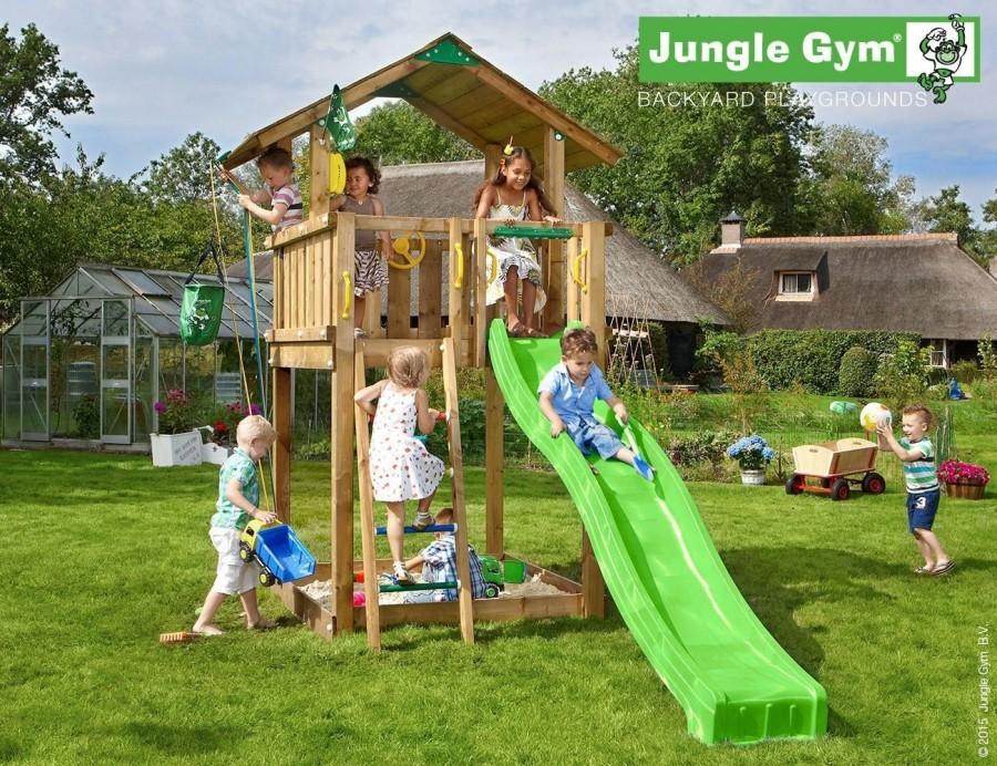 Kerti játszótér - Jungle Gym Chalet játszótorony