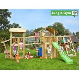 Kerti játszótér - Jungle Gym Paradise 4 játszótornyok