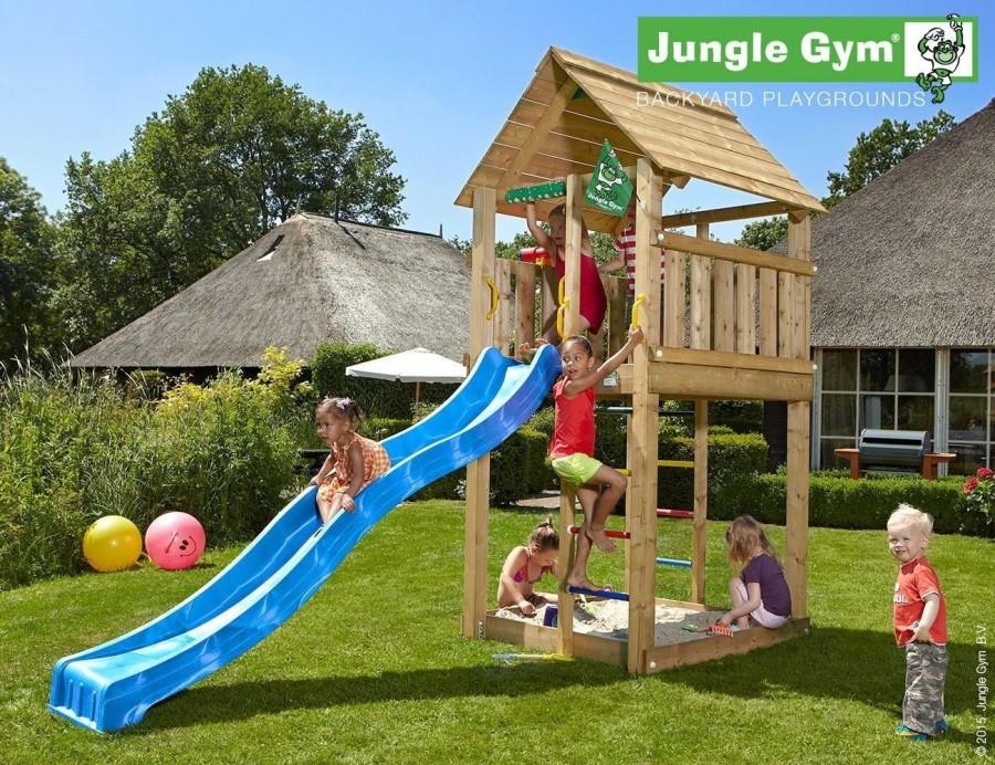 Kerti játszótér - Jungle Gym Cabin játszótorony