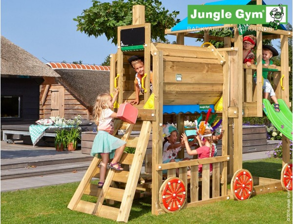 Kerti játszótér - Jungle Gym Train modul