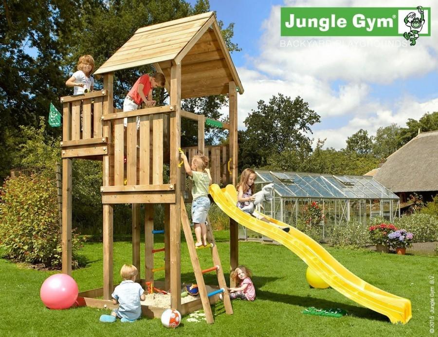 Kerti játszótér - Jungle Gym Palace játszótorony