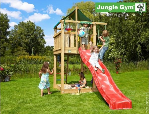 Kerti játszótér - Jungle Gym Lodge játszótorony