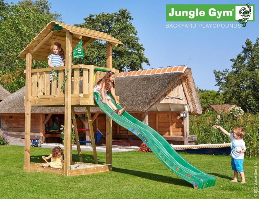 Kerti játszótér - Jungle Gym Shelter játszótorony
