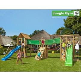Kerti játszótér - Jungle Gym Paradise 3 játszótornyok