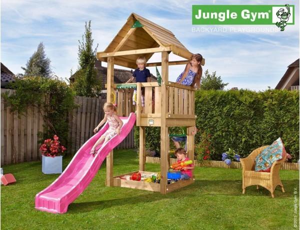 Kerti játszótér - Jungle Gym House játszótorony