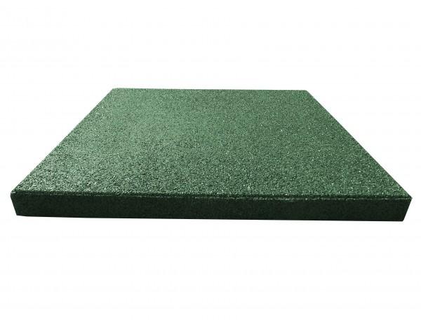 Reflex esésvédő gumilap, 4x50x50 cm, zöld