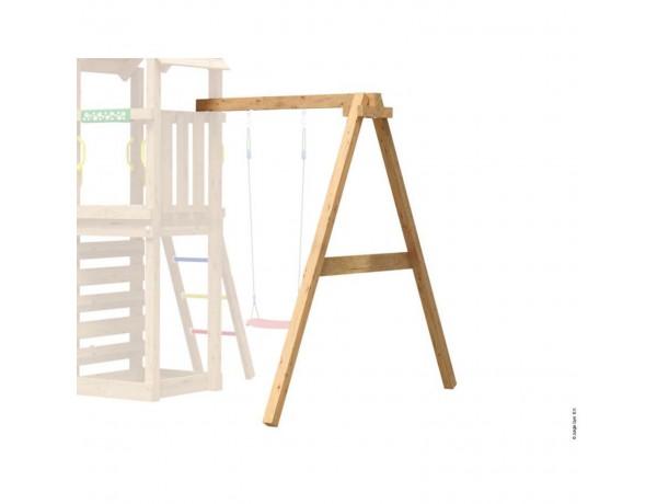 Kerti játszótér - Jungle Gym Swing Frame 1 modul (9x9 oszlopból)